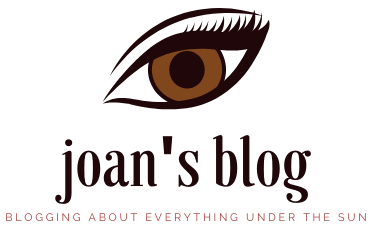 Joan's Blog